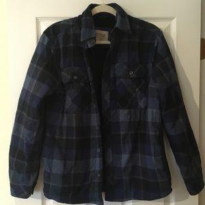 3/$30 Plaid Fleece-Lined Jacket